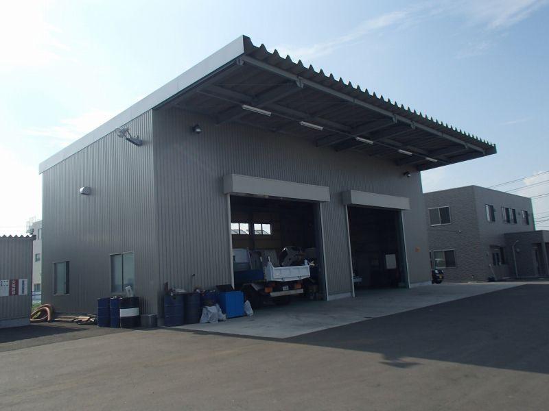 仙台市<br />東北リース卸町事務所 施工写真
