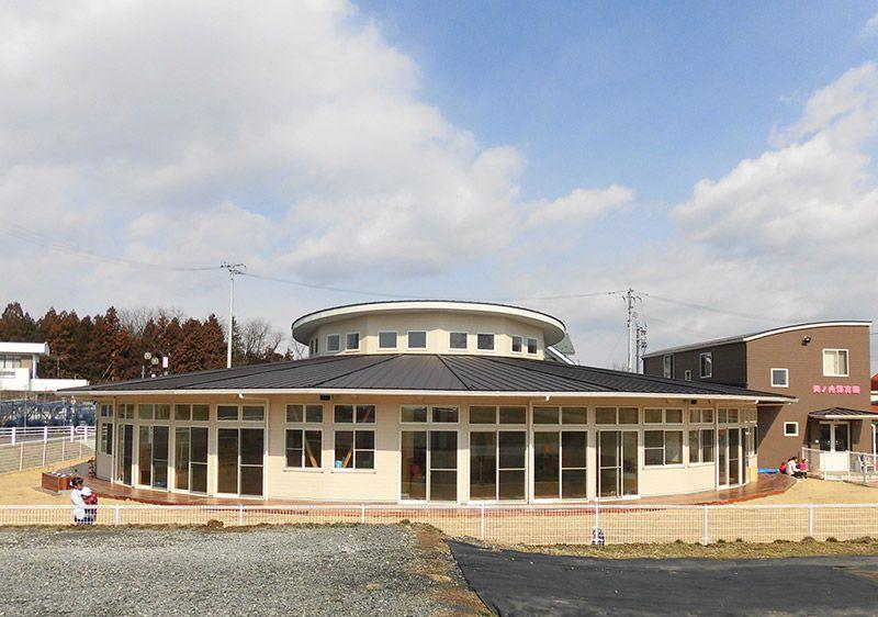 Okanouchi Kindergarten<br /> Fukushima 施工写真