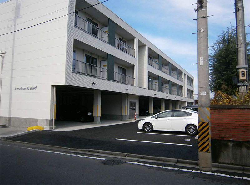 M Apartment<br /> Koriyama<br /> Fukushima 施工写真